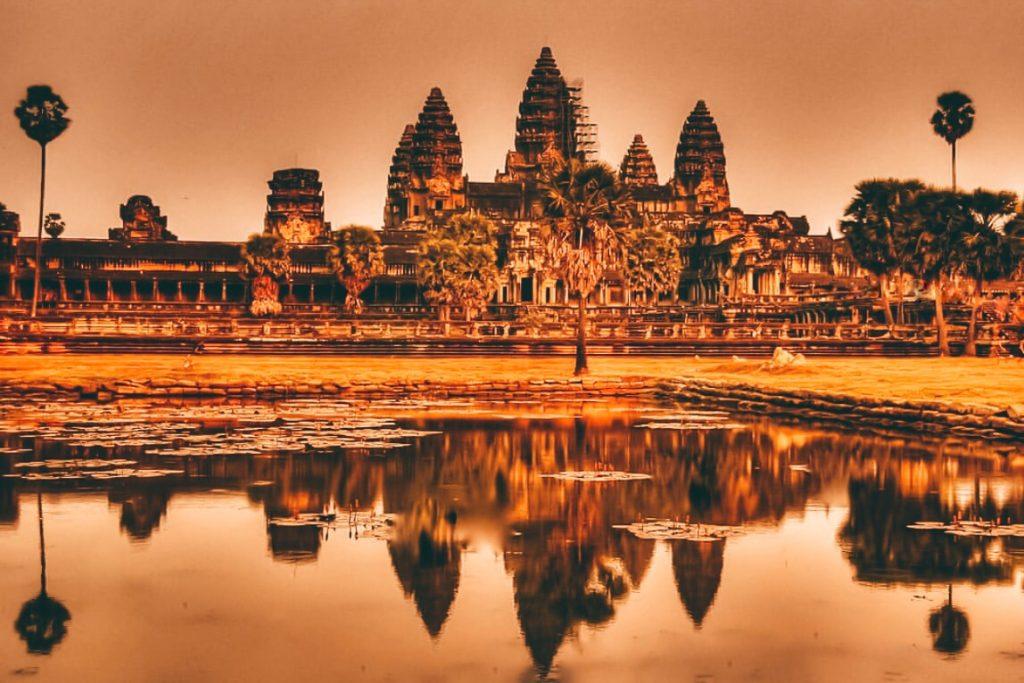 Angkot Wat Sunrise