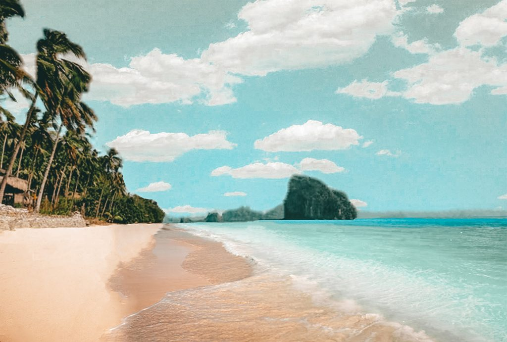 Las Cabanas Beach